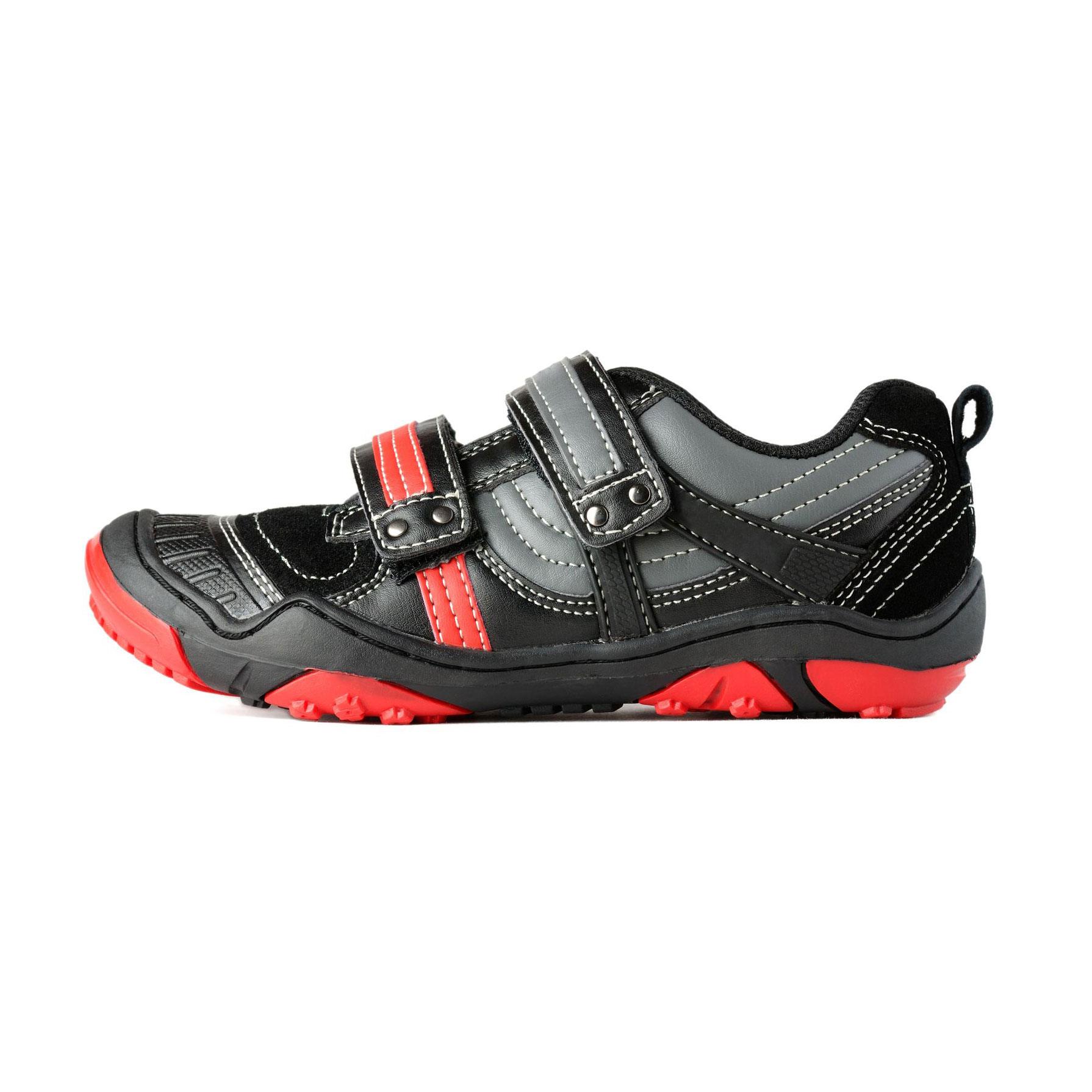 ADEDAS Boy`s Sport Black/Red Shoes
