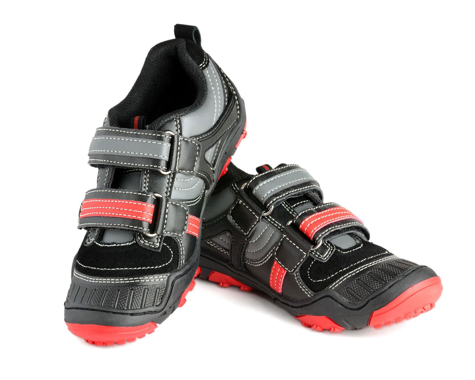 ADEDAS Boy's Sport Black/Red Shoes