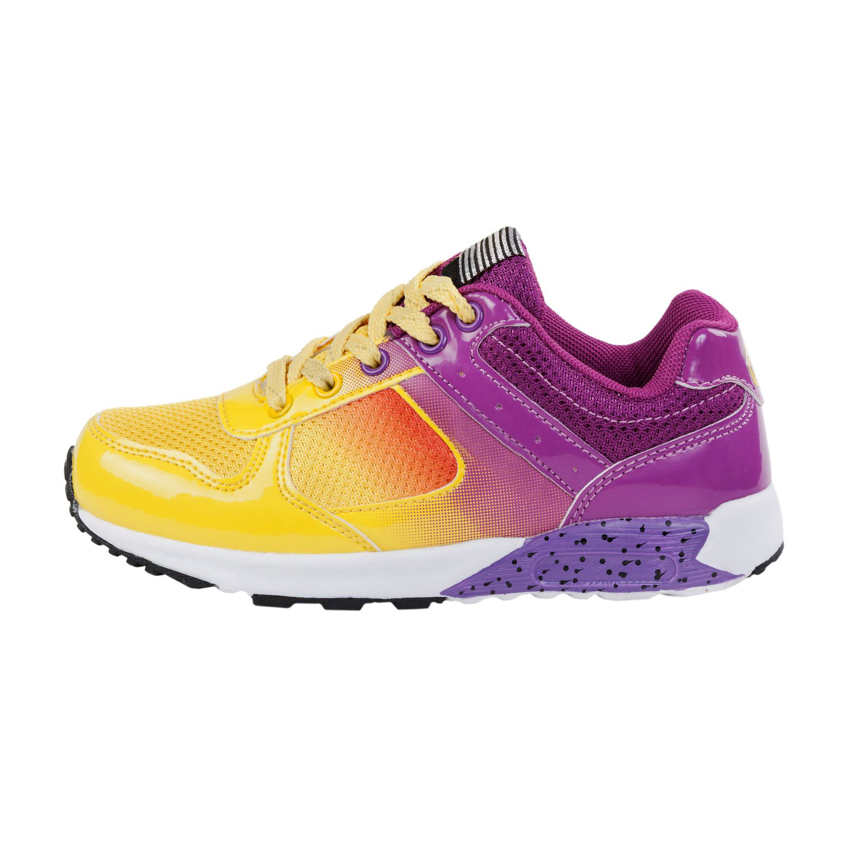 BUTES Women`s Sport Gradient Color Sneakers